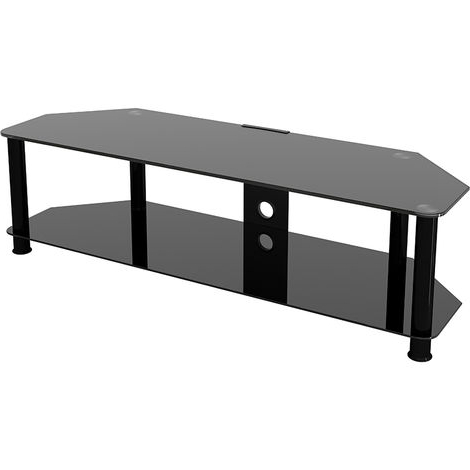 """Tv Stands In Well Known Basie 2 Door Corner Tv Stands For Tvs Up To 55"""" (View 7 of 10)"""