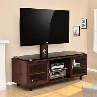 """Tv Stands With Cable Management For Tvs Up To 55"""" Inside Favorite Top 15 Best Tv Stands With Mount In  (View 3 of 10)"""
