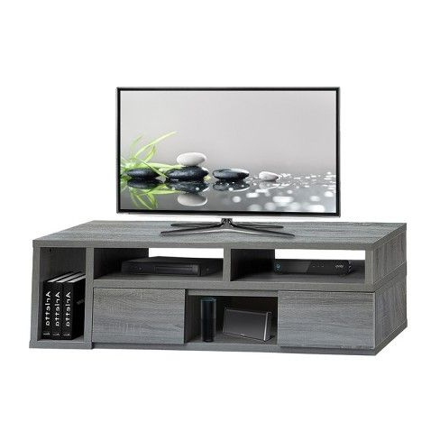 """Tv With Regard To Popular Techni Mobili 53"""" Driftwood Tv Stands In Grey (View 8 of 10)"""