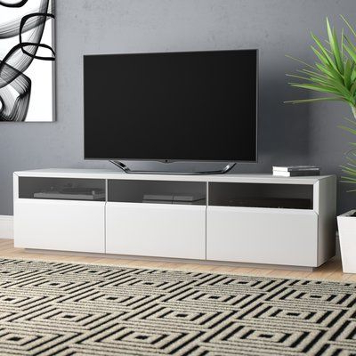"""Wade Logan Bellwood 71"""" Tv Stand Color: White (View 1 of 10)"""