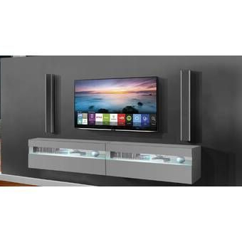 """Wade Logan Julius Floating Entertainment Center For Tvs Up For 2017 Hal Tv Stands For Tvs Up To 60"""" (View 7 of 10)"""