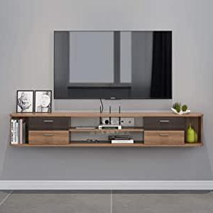 Wall Mounted Tv Shelf  (View 10 of 10)