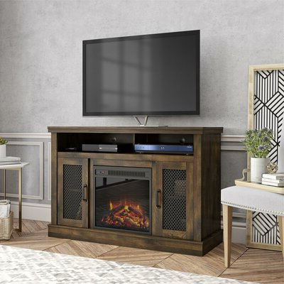 """Well Known 50 Inch Tv Fireplace Tv Stands & Entertainment Centers You With Neilsen Tv Stands For Tvs Up To 50"""" With Fireplace Included (View 3 of 10)"""