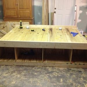 Well Known Barn Door Bed – Ryobi Nation Projects Regarding Twin Star Home Terryville Barn Door Tv Stands (View 10 of 10)