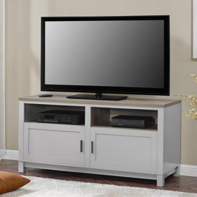 """Well Known Carson Tv Stand, For Tvs Up To 50"""", Multiple Finishes Regarding Carson Tv Stands In Black And Cherry (View 7 of 10)"""