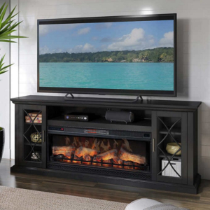 """Well Known Chicago Tv Stands For Tvs Up To 70"""" With Fireplace Included Throughout 8 Best Fireplace Tv Stands Under $300 (2020 Review) – Tv (View 1 of 10)"""