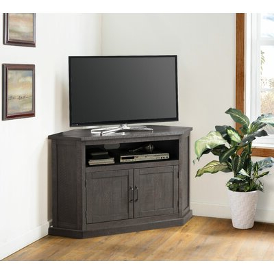 Well Known Corner Entertainment Tv Stands Inside 55 Inch Tv Corner Tv Stands & Entertainment Centers You'll (View 6 of 10)