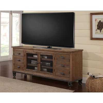 """Well Known Giltner Solid Wood Tv Stands For Tvs Up To 65"""" Throughout 85 Inch Tv Tv Stand Tv Stands & Entertainment Centers You (View 3 of 10)"""