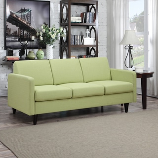 Well Known Green Sofas, Couches & Loveseats – Shop The Best Deals For With French Seamed Sectional Sofas Oblong Mustard (View 8 of 10)