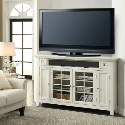 """Well Known Grenier Tv Stands For Tvs Up To 65"""" Within Birch Lane™ Heritage Benedetto Corner Tv Stand For Tvs Up (View 8 of 10)"""