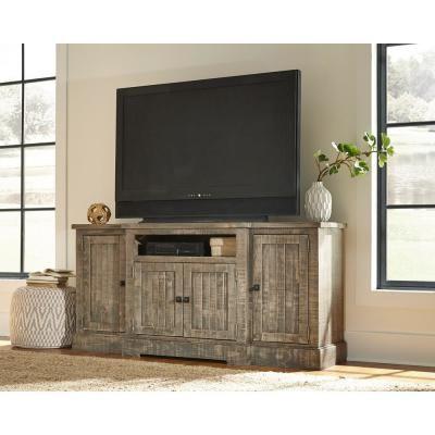Well Known Grooved Door Corner Tv Stands With Progressive Furniture Meadow 72 In (View 3 of 10)