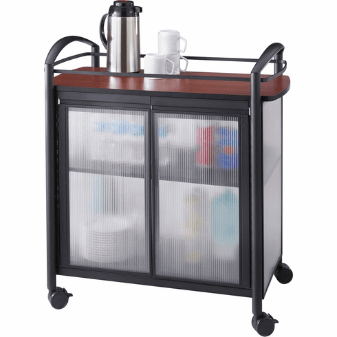 Well Known Impromptu® Refreshment Cart Hospitality & Beverage Cart Intended For Modern Black Tv Stands On Wheels With Metal Cart (View 8 of 10)
