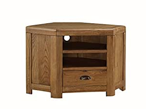 Well Known Oakville Solid Oak Corner Tv Unit – Solid Oak Plasma With Regard To Oakville Corner Tv Stands (View 1 of 10)