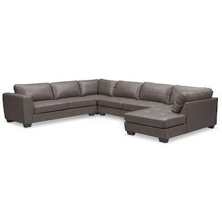 Well Known Santana 4 Piece Sectional With Chaise (View 6 of 10)