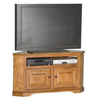 """Well Known Solid Wood Tv Stands For Tvs Up To 65"""" Throughout Glastonbury Solid Wood Corner Unit Tv Stand For Tvs Up To (View 1 of 10)"""