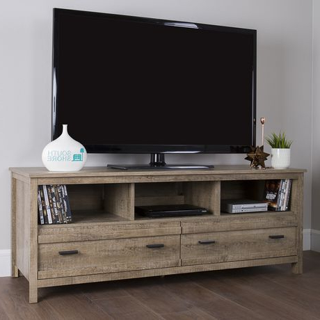 """Well Known South Shore Exhibit Tv Stand For Tv's Up To 60 Inches With Regard To Ahana Tv Stands For Tvs Up To 60"""" (View 6 of 10)"""