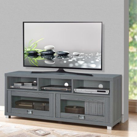 """Well Known Techni Mobili 58"""" Durbin Tv Stands In Espresso Or Grey Wood For Techni Mobili 58"""" Durbin Tv Stand For Tvs Up To 75"""", Grey (View 2 of 10)"""