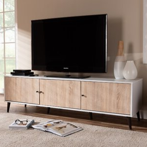 """Well Known Tenley Tv Stands For Tvs Up To 78"""" With George Oliver Jarod Tv Stand For Tvs Up To 78"""" & Reviews (View 7 of 10)"""