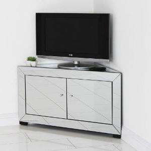 Well Known Venetian Mirrored Corner Tv Cabinet: Amazon.co (View 7 of 10)