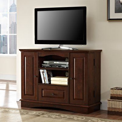 Well Known Walker Edison Farmhouse Tv Stands With Storage Cabinet Doors And Shelves In Walker Edison 42 In (View 6 of 10)