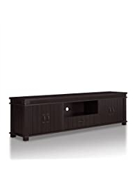 Well Known Wide Tv Stands Entertainment Center Columbia Walnut/black Regarding Tv Stands (View 8 of 10)