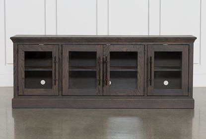 """Well Known Wood Corner Storage Console Tv Stands For Tvs Up To 55"""" White Pertaining To Wakefield 85 Inch Tv Stand ในปี  (View 2 of 10)"""