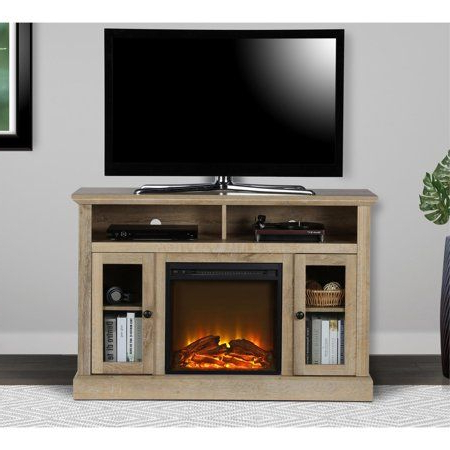 Well Liked Ameriwood Home Carson Tv Stands With Multiple Finishes Within Ameriwood Home Chicago Fireplace Espresso Tv Console For (View 9 of 10)