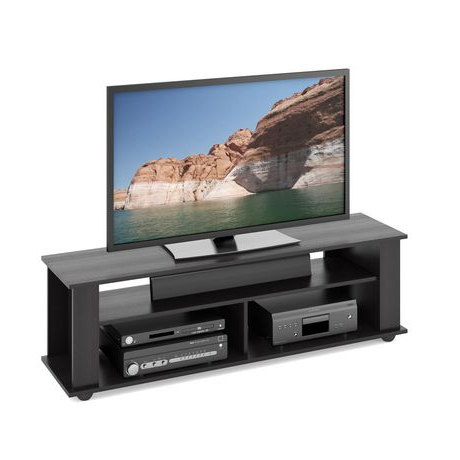 """Well Liked Jowers Tv Stands For Tvs Up To 65"""" Inside Corliving Ravenwood Black Tv Stand, For Tvs Up To 65"""" Tv (View 6 of 10)"""