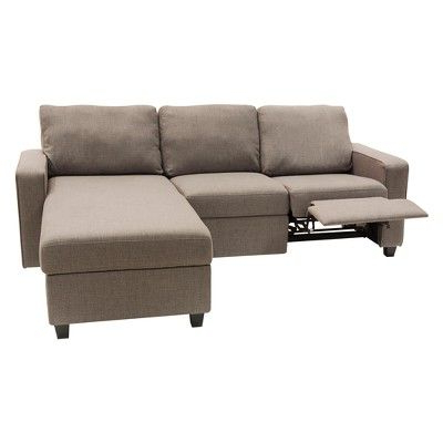 Well Liked Palisades Reclining Sectional With Right Storage Chaise For Copenhagen Reclining Sectional Sofas With Right Storage Chaise (View 3 of 10)