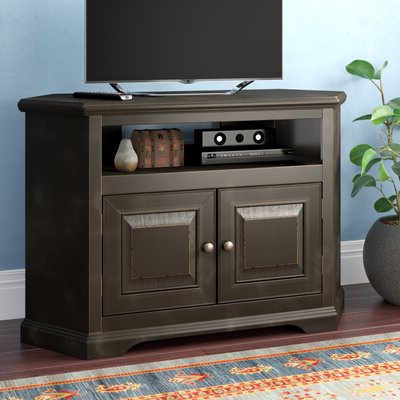 White Corner Tv Stands You'll Love In  (View 3 of 10)