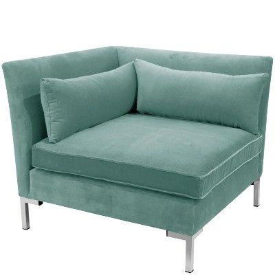 Widely Used 4pc Alexis Sectional With Silver Metal Y Legs Teal Velvet Throughout 4pc Alexis Sectional Sofas With Silver Metal Y Legs (View 6 of 10)