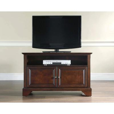 """Widely Used Alexandria Corner Tv Stands For Tvs Up To 48"""" Mahogany Regarding Crosley Lafayetta Mahogany Buffet Kf42001bma – The Home Depot (View 2 of 10)"""
