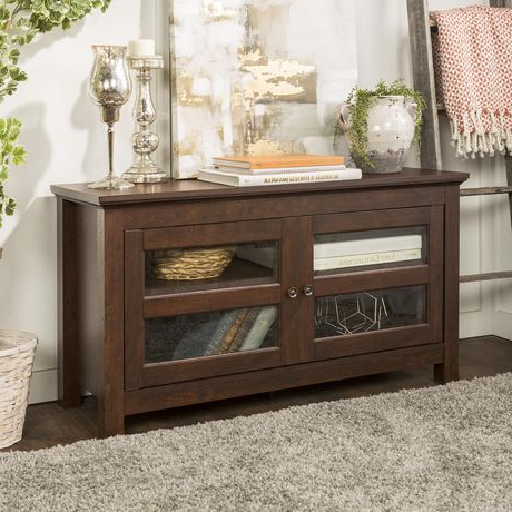 """Widely Used Antea Tv Stands For Tvs Up To 48"""" With Manor Park Simple Wood Tv Stand For Tv's Up To  (View 6 of 10)"""