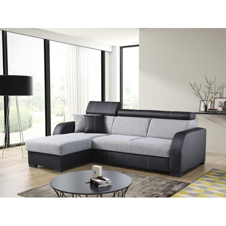 Widely Used Bmf Deco Corner Sofa Modern Storage Bed Sleeping Fabric Inside Mireille Modern And Contemporary Fabric Upholstered Sectional Sofas (View 6 of 10)