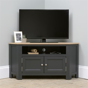Widely Used Cotswold Cream Tv Stands For Corner Tv Stands & Tv Units – Stunning Oak, Pine & Painted (View 4 of 10)