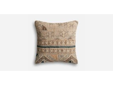 Widely Used Magnolia Sectional Sofas With Pillows In Magnolia Home Beige And Blue Pillow Made From Jute And (View 8 of 10)