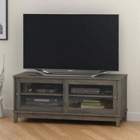 """Widely Used Mainstays Parsons Tv Stands With Multiple Finishes Within Mainstays Tv Stand For Tvs Up To 55"""", Multiple Finishes (View 8 of 10)"""