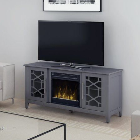 """Widely Used Millen Tv Stands For Tvs Up To 60"""" Intended For Elmhurst Cool Gray Tv Stand For Tvs Up To 60"""" With (View 2 of 10)"""
