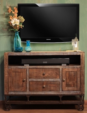 """Widely Used Modern Black Tv Stands On Wheels Pertaining To Urban Gold 52"""" Tv Stand (View 8 of 10)"""