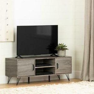 Widely Used South Shore Evane Tv Stands With Doors In Oak Camel Throughout South Shore Evane Tv Stand With Doors 55in In Oak Camel (View 4 of 10)