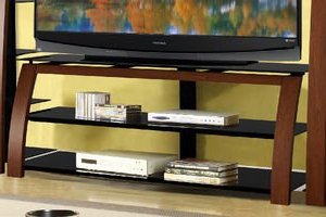 Widely Used Tv Stands With Cable Management Inside Amazon: Whalen 3 Shelf Tv Console For Tvs Up To  (View 9 of 10)