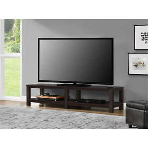 """Wood Corner Storage Console Tv Stands For Tvs Up To 55"""" White Inside Well Liked 65 Inch Tv Media Entertainment Stand Console Table Mount (View 7 of 10)"""