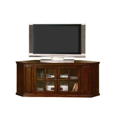 Woodbridge Home Designs Hayden Corner Tv Stand & Reviews With Popular Corner Entertainment Tv Stands (View 10 of 10)