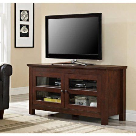 Woven Paths Barn Door Tv Stands In Multiple Finishes With Trendy Woven Paths Transitional Tv Stand For Tvs Up To  (View 9 of 10)