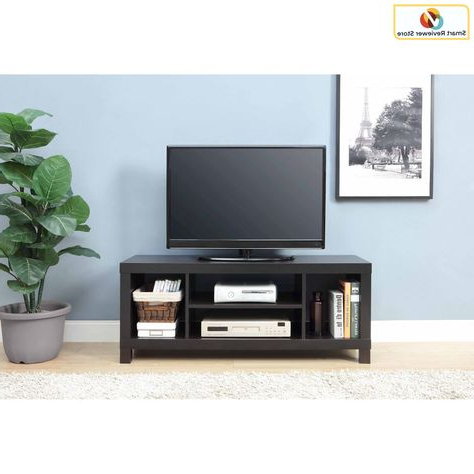 Woven Paths Open Storage Tv Stands With Multiple Finishes In Current 47 Inch Tv Stand Entertainment Center Home Theater Media (View 9 of 10)