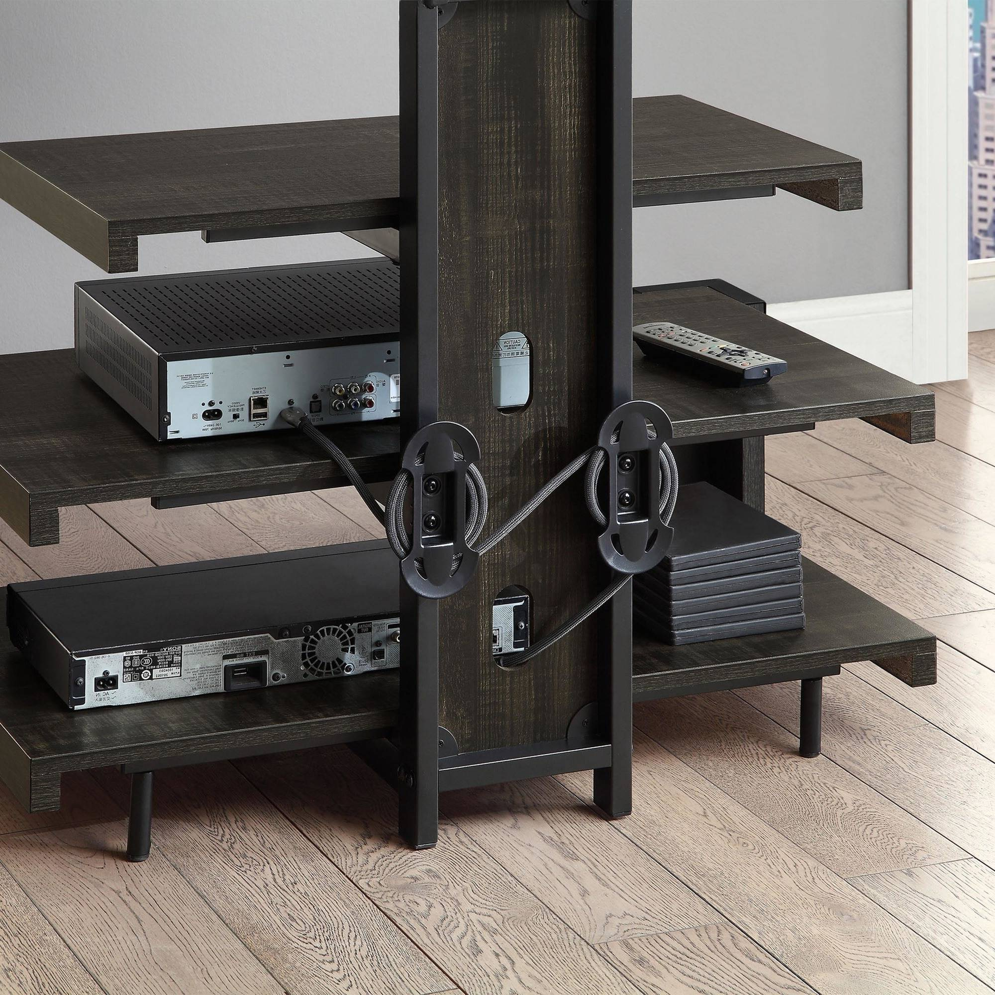 Whalen Shelf Tv Stands Cable Management (View 6 of 6)