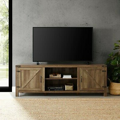 Well Known Rustic Tv Stand Smart 4k Entertainment Center Farmhouse 70 Throughout Tv Stands (View 7 of 9)
