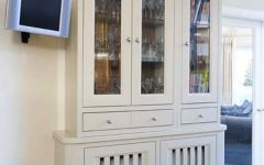 Radiator Covers with Bookshelves