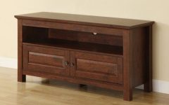 Woven Paths Open Storage Tv Stands with Multiple Finishes
