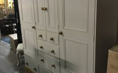 Large Shabby Chic Wardrobes
